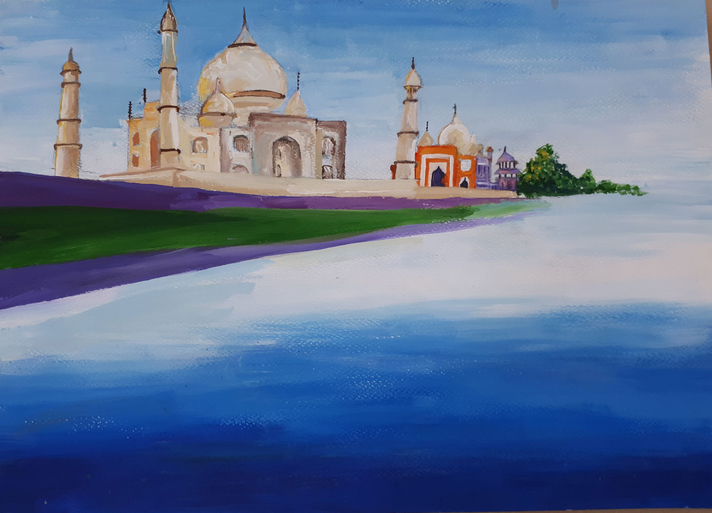 Taj Mahal, Art of the Week
